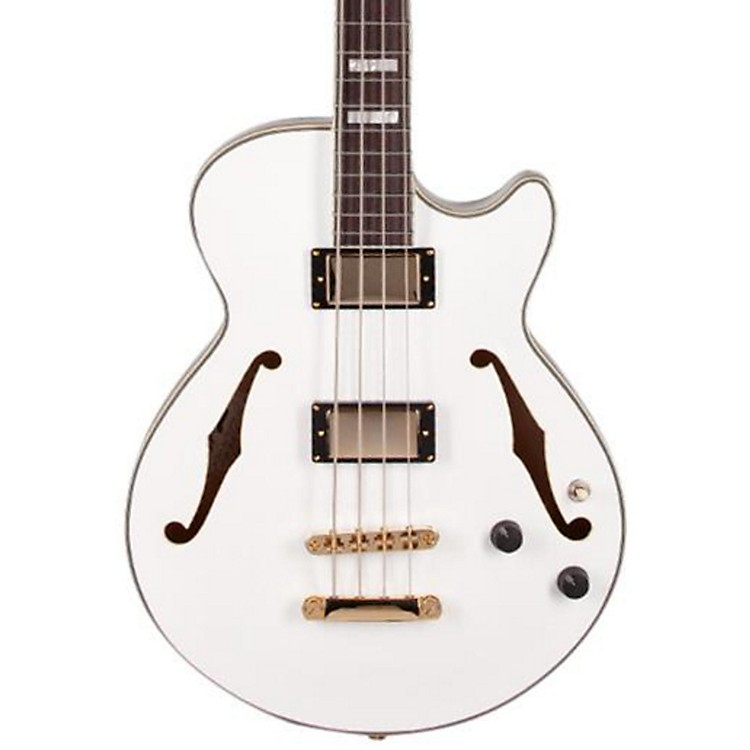 D'Angelico EX Bass Guitar White