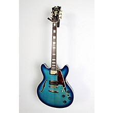 D'Angelico EX-DC/SP Semi-Hollowbody Electric Guitar Level 2 Blue Burst 190839048875