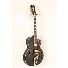 D'Angelico EX-DH Deluxe Edition Hollowbody Electric Guitar Level 2 Midnight Matte 888366040386