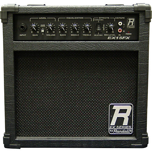 randall ex15fx guitar amp with effects musician 39 s friend. Black Bedroom Furniture Sets. Home Design Ideas