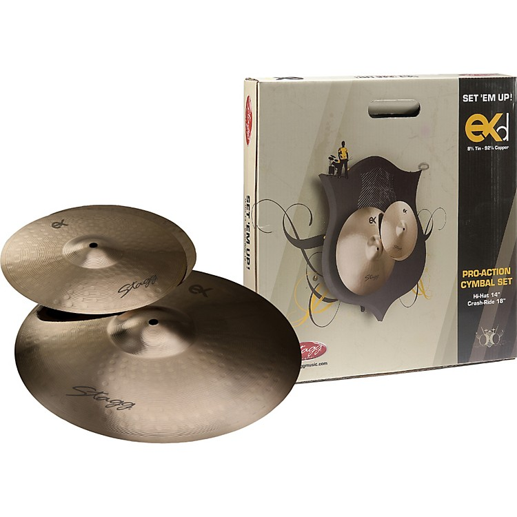 Stagg EXD Cymbal Set