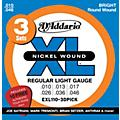 D'Addario EXL110 Electric Guitar Strings 3-Pack with Free Picks thumbnail