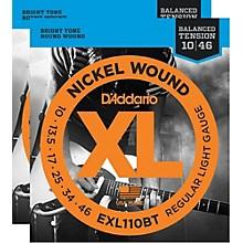 D'Addario EXL110BT Balanced Tension Lite Electric Guitar Strings (2-Pack)
