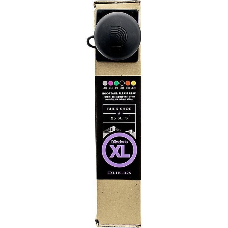 D'AddarioEXL115 Blues/Jazz Bulk -Pack Guitar Strings Medium  25 Sets25 Sets
