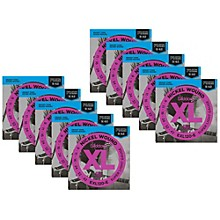 D'Addario EXL120-E Bonus Pack: Super Light Electric Guitar Strings 10 Pack with 10 Bonus High E Strings (9-42)