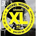 D'Addario EXL125-3D Electric Guitar Strings 3-Pack  Thumbnail