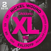 EXL170TP Round Wound Bass Guitar Strings 2-Pack