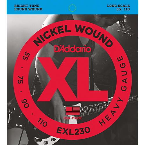 D'Addario EXL230 Heavy Long Bass Strings-thumbnail