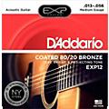 D'Addario EXP12 Coated 80/20 Bronze Medium Acoustic Guitar Strings