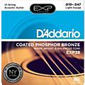 D'Addario EXP38 12-String Coated Phosphor Bronze Light Acoustic Guitar Strings-thumbnail