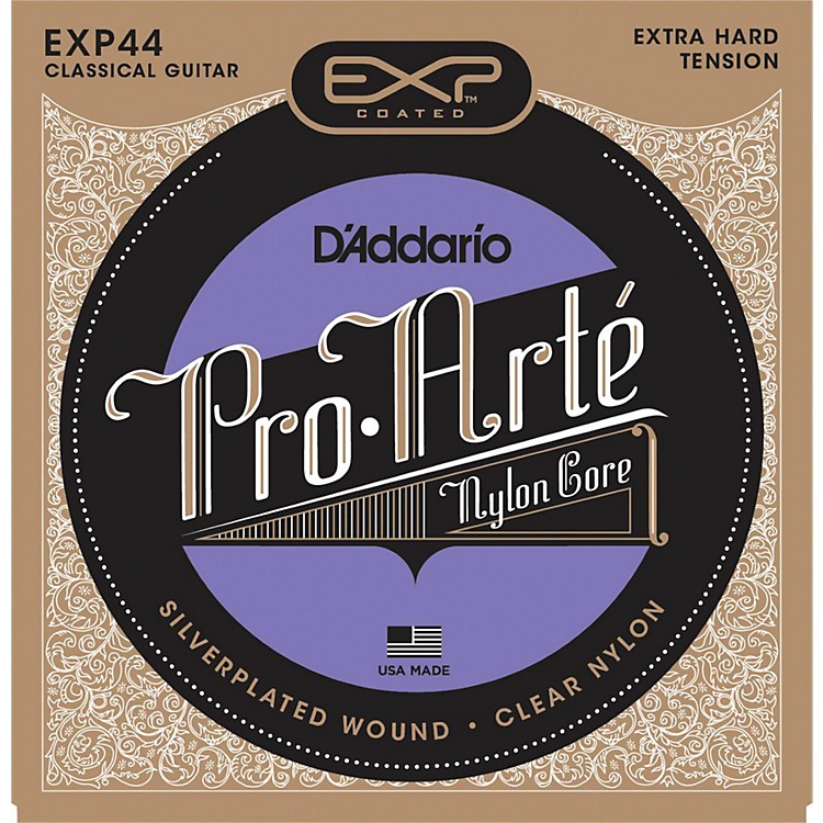 D'Addario EXP44C Coated Extra Hard Classical Guitar Strings