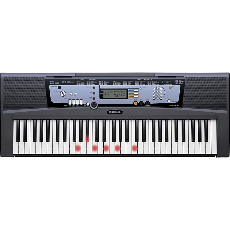 Yamaha EZ-200 Portable Keyboard