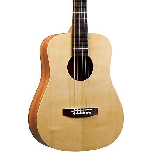 Recording King EZ Tone RD-A3MQ Mini Dreadnought Acoustic Guitar Natural