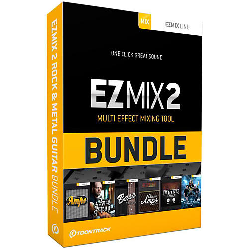 Toontrack EZmix 2 Rock & Metal Guitar Bundle Software Download-thumbnail