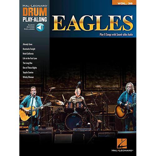 Hal Leonard Eagles - Drum Play-Along Volume 38 (Book/Online Audio)