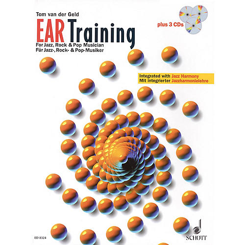 Schott Ear Training - A Complete Course for the Jazz, Rock & Pop Musician Schott Series Softcover with CD-thumbnail