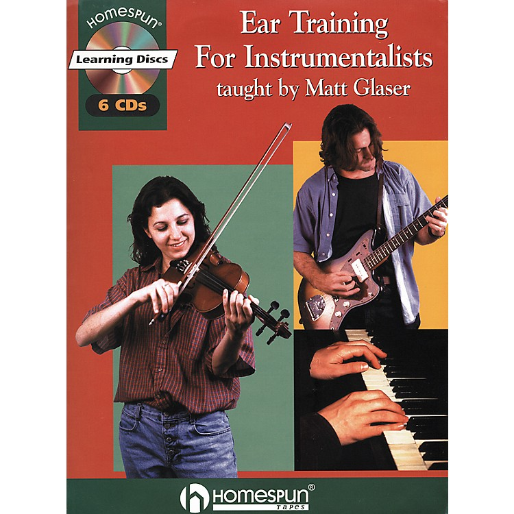Hal Leonard Ear Training for Instrumentalists Book/CD