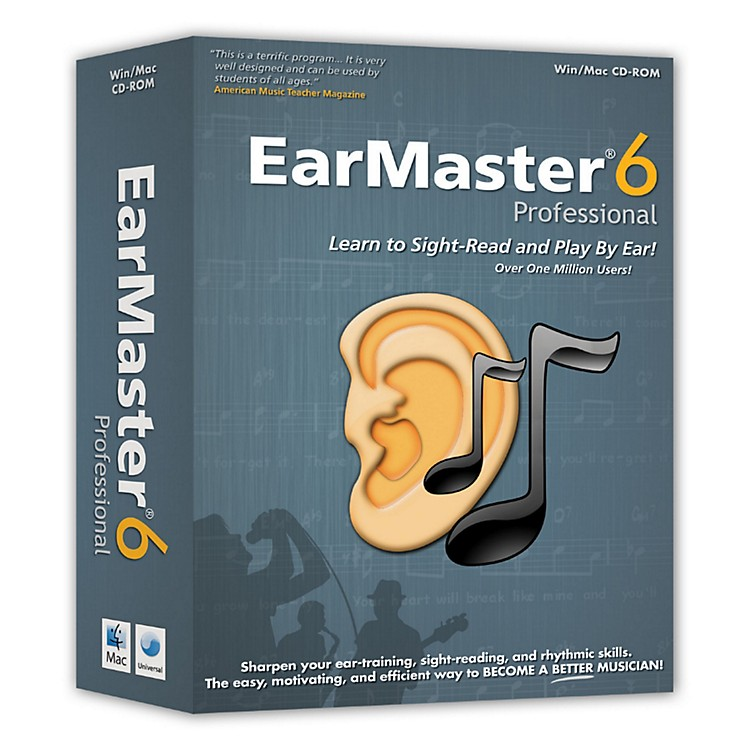 eMediaEarMaster 6 Pro CD-Rom