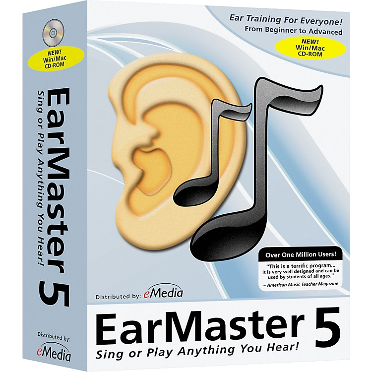 eMedia EarMaster Pro 5 CD-Rom - Home User Site License