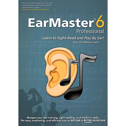 Emedia EarMaster Pro 6 - Digital Download Windows / Mac Version