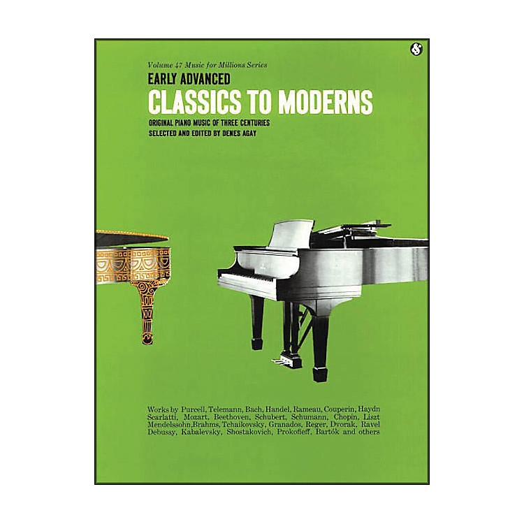 Music Sales Early Advanced Classics To Moderns By Denes Agay