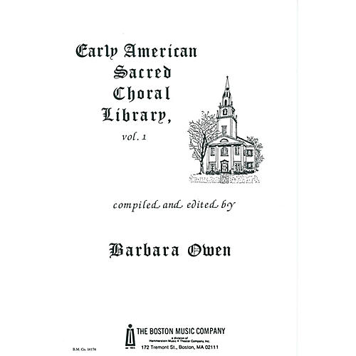 Music Sales Early American Sacred Choral Library Vol. 1 Music Sales America Series-thumbnail