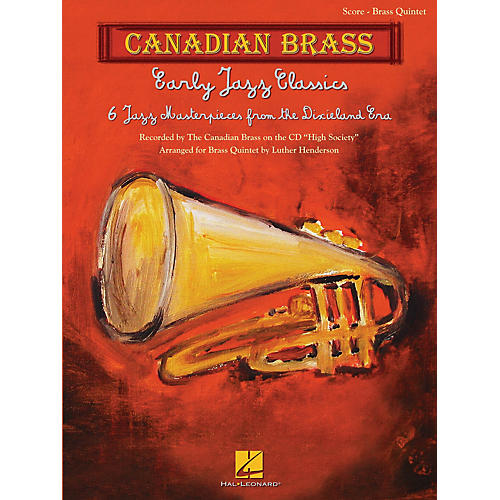 Canadian Brass Early Jazz Classics (Canadian Brass Quintets Score) Brass Ensemble Series Arranged by Luther Henderson-thumbnail