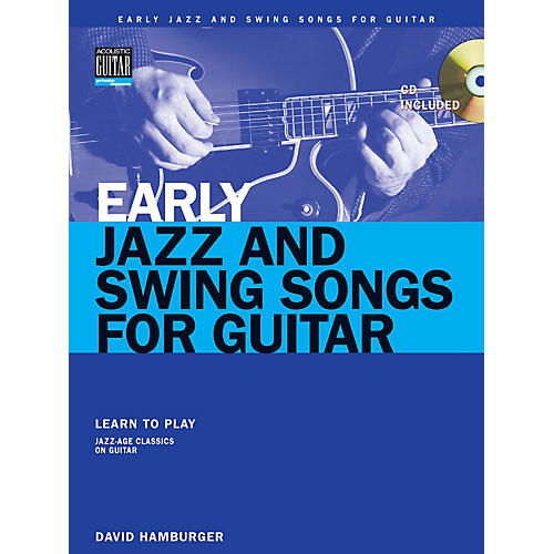 String Letter Publishing Early Jazz & Swing Songs String Letter Publishing Series Softcover with CD Performed by Various-thumbnail