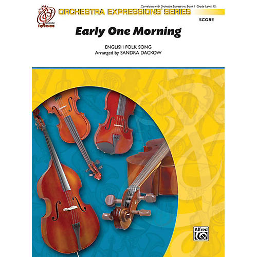 Alfred Early One Morning String Orchestra Grade 1.5-thumbnail