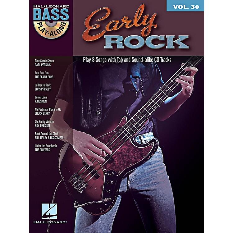 Hal LeonardEarly Rock - Bass Play-Along Series Volume 30 Book/CD