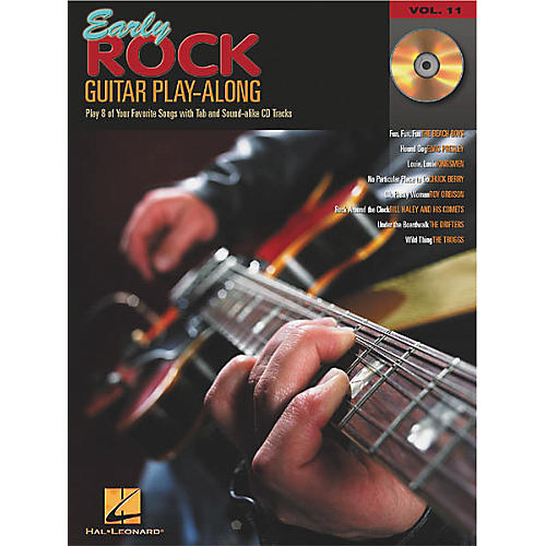 Hal Leonard Early Rock Guitar Play-Along (Book/CD)