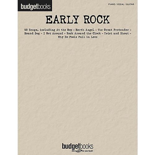 Hal Leonard Early Rock Piano, Vocal, Guitar Songbook-thumbnail