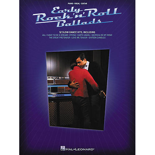 Hal Leonard Early Rock'n' Roll Ballads Piano, Vocal, Guitar Songbook