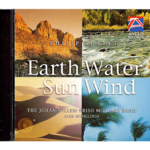 Anglo Music Press Earth, Water, Sun, Wind (Anglo Music Press CD) Concert Band Composed by Philip Sparke-thumbnail