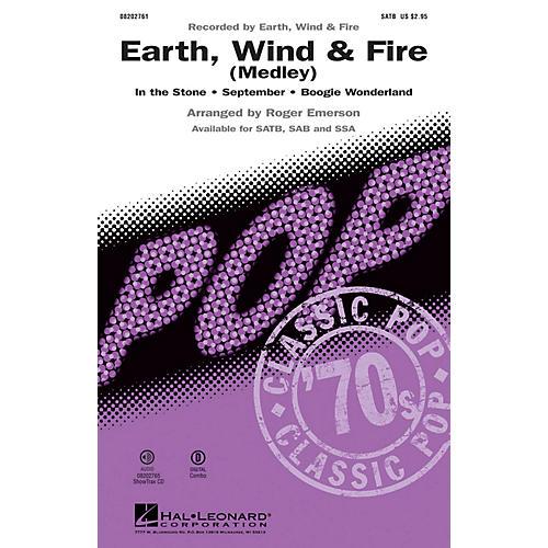 Hal Leonard Earth, Wind & Fire (Medley) SAB by Earth, Wind & Fire Arranged by Roger Emerson