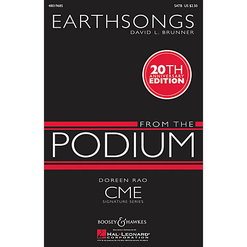Boosey and Hawkes Earthsongs (CME From the Podium) SATB composed by David Brunner-thumbnail