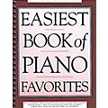 Music Sales Easiest Book of Piano Favorites (The Library of Series) Music Sales America Series Softcover thumbnail