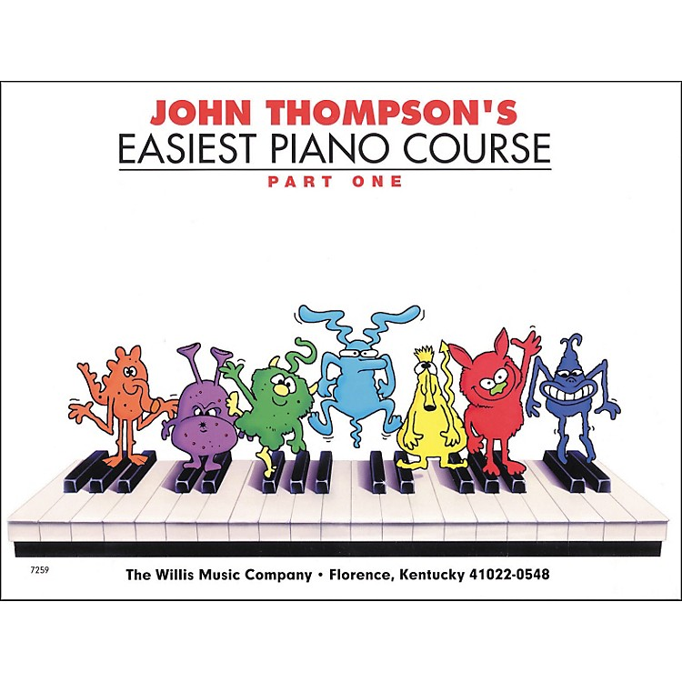 Hal Leonard Easiest Piano Course Part 1 Book