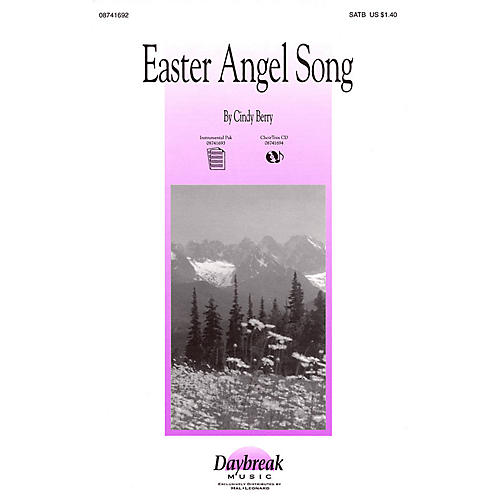 Daybreak Music Easter Angel Song SATB composed by Cindy Berry-thumbnail