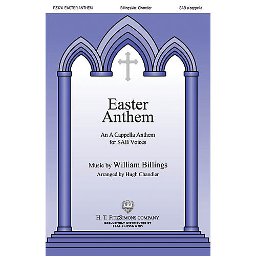 H.T. FitzSimons Company Easter Anthem SAB A Cappella arranged by Hugh Chandler-thumbnail