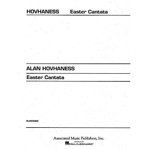 Associated Easter Cantata (from Triptych) (SATB) SATB composed by Alan Hovhaness-thumbnail