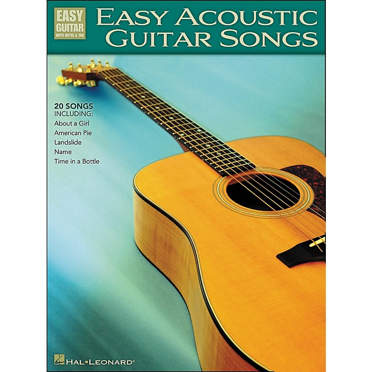Hal Leonard Easy Acoustic Guitar Songs Easy Guitar Tab