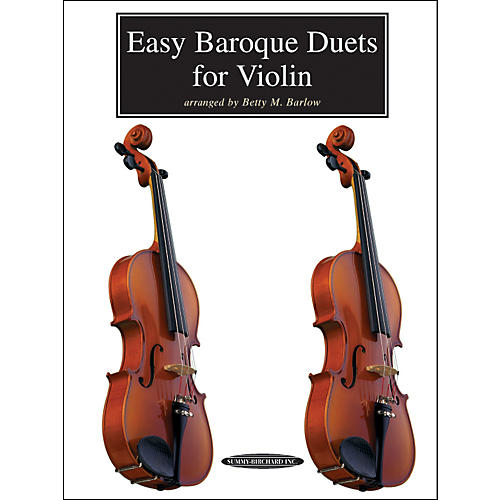 Alfred Easy Baroque Duets for Violin (Book)-thumbnail