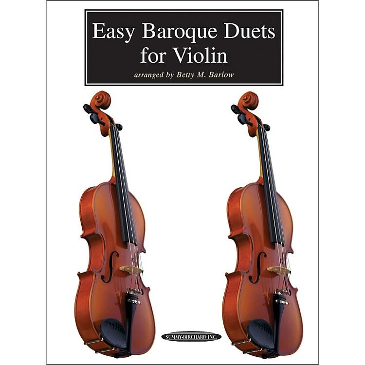 AlfredEasy Baroque Duets for Violin (Book)