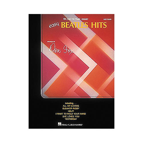 Hal Leonard Easy Beatles Hits For Easy Piano