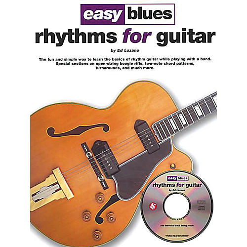 Music Sales Easy Blues Rhythms for Guitar Music Sales America Series Softcover with CD Written by Ed Lozano-thumbnail