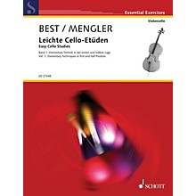 Schott Easy Cello Studies - Volume 1 (Elementary Techniques in First and Half Position) String Series Softcover