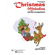 Lee Roberts Easy Christmas Melodies Piano (with Duet Accompaniments) Pace Piano Education Series Softcover with CD