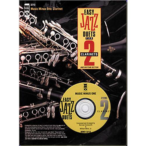 Hal Leonard Easy Clarinet Jazz Duets