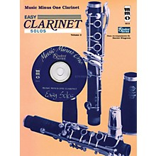 Music Minus One Easy Clarinet Solos, Vol. II - Student Level Music Minus One Series BK/CD